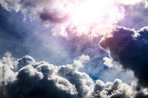 Cloudscape with a Light - 191032765
