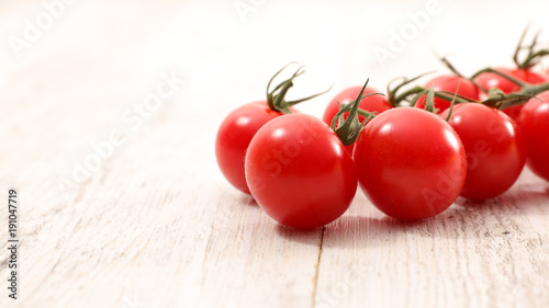 Fotobehang Kersen fresh cherry tomato