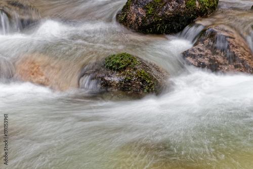 Foto op Canvas Donkergrijs Torrent des Vosges
