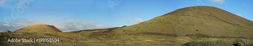 Fotobehang Canarische Eilanden Lanzarote Landscape