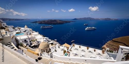 Foto op Canvas Santorini Santorini, Greece