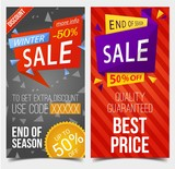 Tags or discount stickers with code for retail sale - 191072504