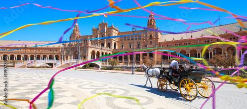 Seville / Spain - Plaza de España