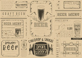 Beer Placemat - 191087798