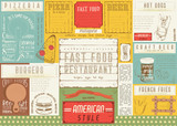 Fast Food Restaurant Placemat - 191090983
