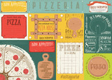Placemat for Pizzeria - 191092127