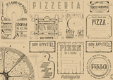 Placemat for Pizzeria - 191092302