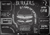 Fast Food Restaurant Placemat - 191092534