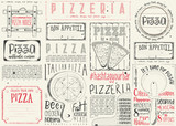Placemat for Pizzeria - 191095129