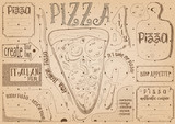 Placemat for Pizzeria - 191095576