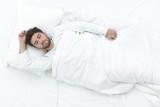 background image waking up beautiful men. - 191102106