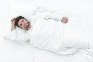 background image waking up beautiful men.