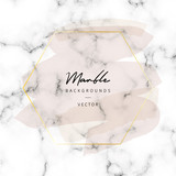 Modern marble vector texture background