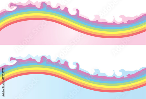 In de dag Abstract wave background design
