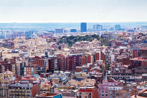Kind of Barcelona from high point