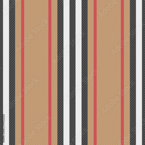 Materiał do szycia Striped Fashion Seamless Pattern