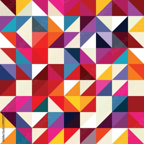 Triangle geometric shapes pattern. - 191139179