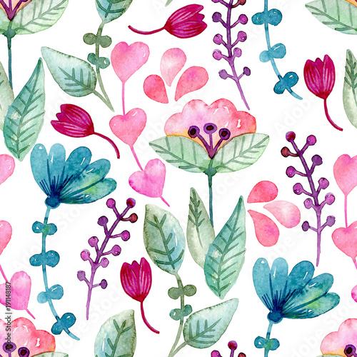 akwarela-bezszwowe-tlo-kwiatowy-kolorowi-srodpolni-kwiaty-na-bielu