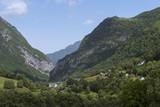 La vallée d'Aspe est une vallée des Pyrénées françaises. - 191152127