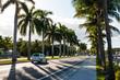 A road in Miami, Florida.