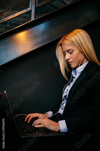 A modern businesswoman