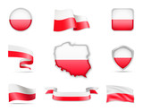 Poland Flags Collection