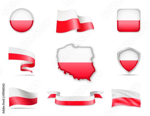Poland Flags Collection