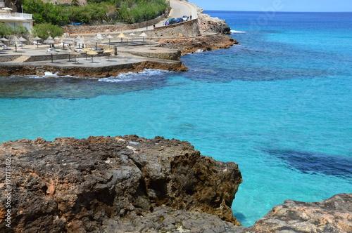 Foto op Aluminium Blauw Palma de Majorque, une île de rêve