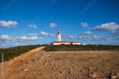 Fotobehang Vuurtoren Farol do Cabo Espichel