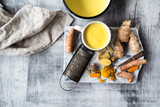 turmeric golden tea - 191191529