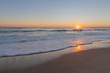 Sunrise over the Atlantic Ocean at the Cape Cod National Seashore