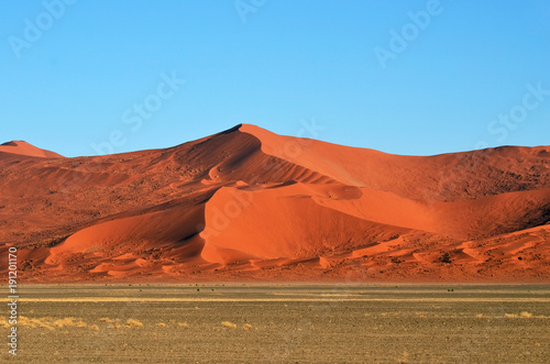 Papiers peints Brique Sossusvlei, Namib Naukluft National Park, Namibia