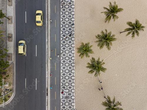 Deurstickers Rio de Janeiro Ipanema Beach Rio de Janeiro