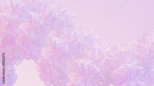 Abstract, openwork background. 3d illustration, 3d rendering.