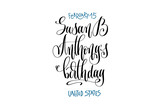 february 15 - Susan B Anthony's birthday - United States - 191230365