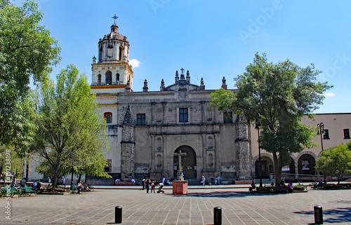 Iglesia de San Juan Bautista Coyoacan Mexico