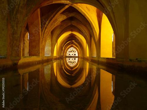 Baths of Dona Maria de Padilla, Alcazar, Seville, Spain