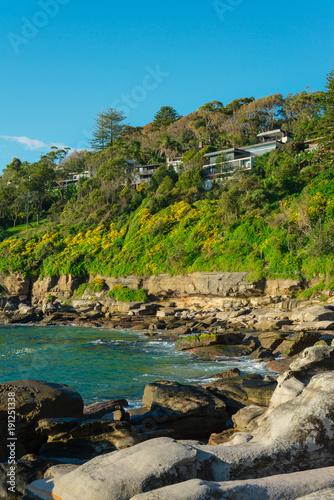 Fotobehang Sydney Dolphin Cove, Northern Beaches, Sydney, Australia