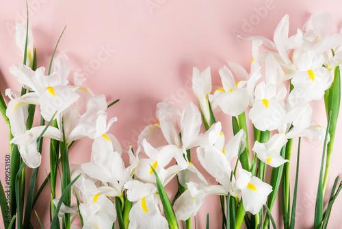 Aluminium Iris Bouquet of Beautiful Iris Flowers