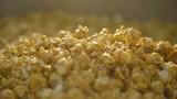 Close up popcorn background with caramel 4K - 191253569