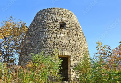 Fotobehang Kiev Old windmill ruin