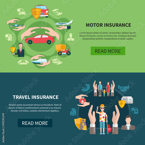 Insurance Horizontal Banners