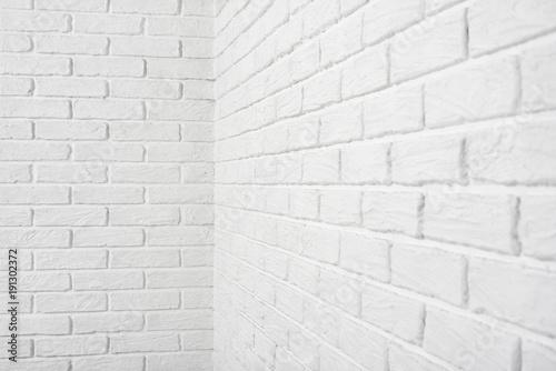 White Brick Wall Corner Abstract Background Photo Buy Photos Ap