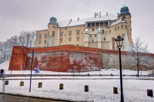 Staande foto Krakau Krakow, Poland