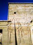 Temple in Philae, Egypt - 191323541