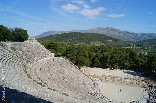 Foto op Canvas Donkergrijs Grèce