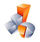 icône graphique statistiques - 191333391