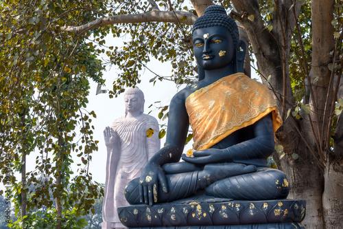 Fotobehang Boeddha Double Buddha