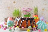 Chocolate easter cake - 191334704