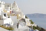 View of the town of Fira in Santorini island, Greece - 191337397